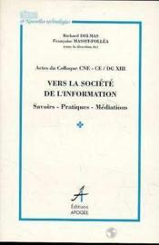 Vers la societe de l'information - Couverture - Format classique