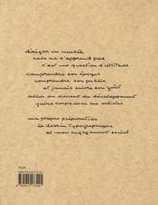 Sandberg - 4ème de couverture - Format classique