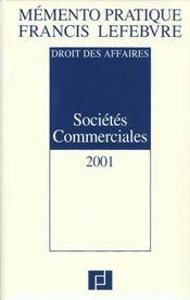 Memento ; societes commerciales - Intérieur - Format classique