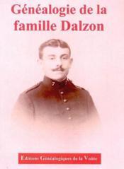 Genealogie de la famille dalzon - Couverture - Format classique