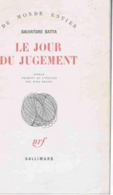 Le Jour Du Jugement - Couverture - Format classique