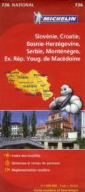 Slovénie ; Croatie ; Bosnie-Herzégovine ; Serbie ; Monténégro ; ex-République yougoslave de Macédoine (édition 2012) - Couverture - Format classique