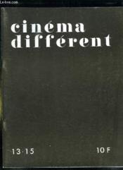 Cinema Different N° 13 - 15. Sommaire: Quand Je Pense A Jacence, La Cite Des Neuf Portes, Le Sexe Des Anges, Le Doigt Dans L Oeil... - Couverture - Format classique