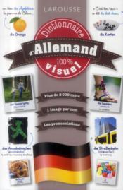 Dictionnaire visuel allemand - Couverture - Format classique