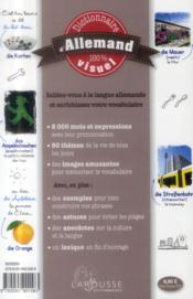 Dictionnaire visuel allemand - 4ème de couverture - Format classique