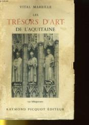 Les Tresors D'Art De L'Aquitaine - Couverture - Format classique