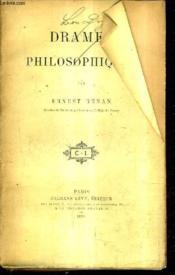 Drames Philosophiques. - Couverture - Format classique