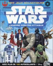 Star Wars - épisode V ; l'Empire contre-attaque ; mes jeux galactiques - Couverture - Format classique