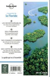 La Floride (2e édition) - 4ème de couverture - Format classique