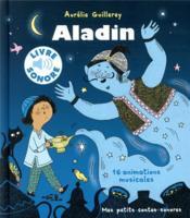 Aladin ; 16 animations musicales - Couverture - Format classique