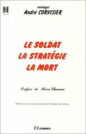 Soldat ; la strategie de la mort - Couverture - Format classique