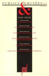 Publics Et Musees T.15 - Couverture - Format classique
