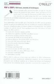 Pdf A 200% - 4ème de couverture - Format classique