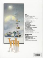XIII T.6 ; le dossier Jason Fly - 4ème de couverture - Format classique
