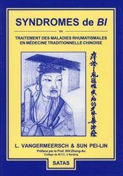Syndromes de bi ; ou traitement des maladies rhumatismales en médecine traditionnelle chinoise - Intérieur - Format classique