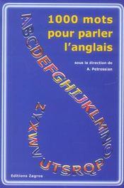 1000 Mots Pour Parler L'Anglais - Intérieur - Format classique
