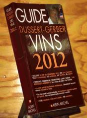 Guide Dussert-Gerber des vins 2012 - Couverture - Format classique