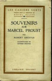 Souvenirs Sur Marcel Proust. - Couverture - Format classique
