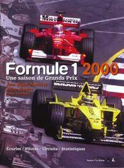 Formule 1 2000 - Intérieur - Format classique