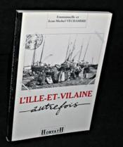 L'Ille-Et-Vilaine Autrefois - Couverture - Format classique