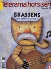 Telerama Hors Serie - Nouvelle Edition - Brassens - Couverture - Format classique