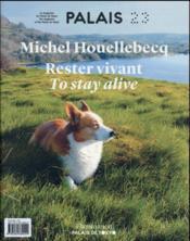 Michel Houellebecq, rester vivant - Couverture - Format classique