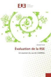 Evaluation de la rse - un examen du cas de camrail - Couverture - Format classique