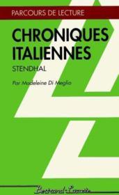 Chroniques Italiennes - Parcours De Lecture - Couverture - Format classique