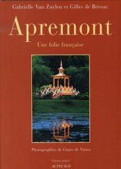 Apremont ; une folie française - Intérieur - Format classique