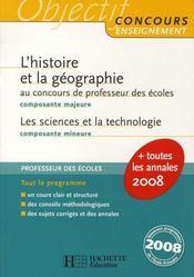L'Histoire Geographie Au Crpe - Intérieur - Format classique