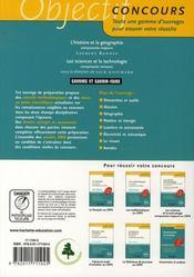 L'Histoire Geographie Au Crpe - 4ème de couverture - Format classique