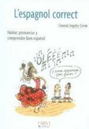 L'espagnol correct - Intérieur - Format classique