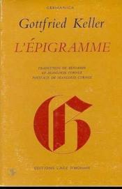 L'Epigramme - Couverture - Format classique