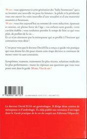 50 Ans Vive La Vie ; Guide Pratique De La Menopause - 4ème de couverture - Format classique