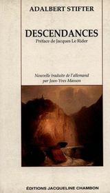 Descendances - Intérieur - Format classique