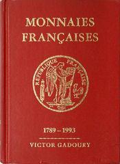 Monnaies françaises 1993 - Couverture - Format classique