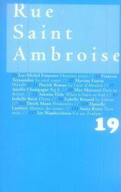 Rue Saint Ambroise 19 - Intérieur - Format classique