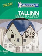 Le Guide Vert ; Week-End ; Tallinn - Couverture - Format classique
