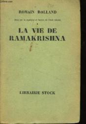La vie de Ramakrishna. - Couverture - Format classique