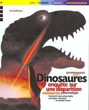 Dinosaures ; Enquete Sur Une Disparition - Intérieur - Format classique