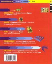 Dinosaures ; Enquete Sur Une Disparition - 4ème de couverture - Format classique