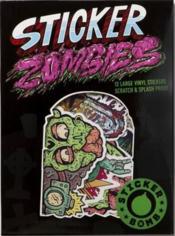 Sticker zombies - Couverture - Format classique