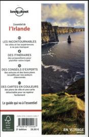 L'essentiel de l'Irlande (2e édition) - 4ème de couverture - Format classique