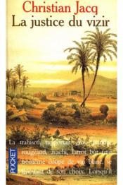 Le Juge D'Egypte T.3 La Justice Du Vizir - Couverture - Format classique