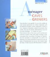 Amenager Caves Et Greniers - 4ème de couverture - Format classique