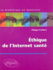 Ethique De L'Internet Sante - Intérieur - Format classique