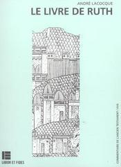 Le livre de ruth - Intérieur - Format classique