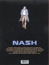 Nash t.7 ; les ombres - 4ème de couverture - Format classique