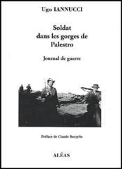 Soldat dans les gorges de Palestro : journal de guerre - Couverture - Format classique