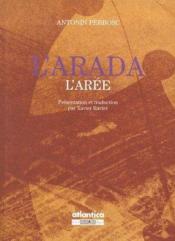 L'Arada ; l'Arée - Couverture - Format classique